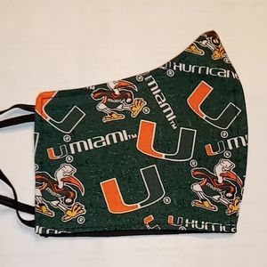 Miami Hurricane Face Mask